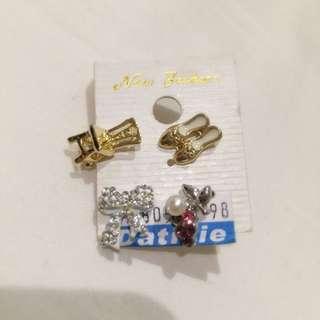 復古小物耳環