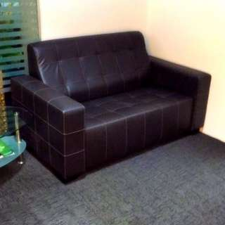 Sofa and Ottoman set.