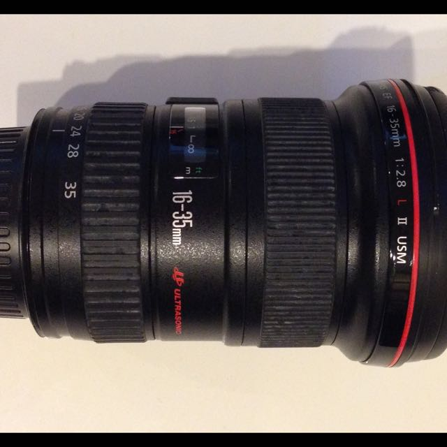 16-35mm Ultrasonic EF Lens