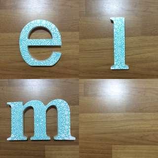 Typo Block Letters