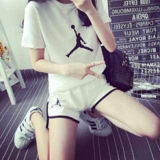 💖(褲子+衣服)韓版運動套裝