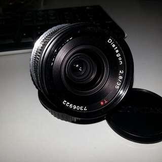 Zeiss 35mm F2.8 C/Y Mount Manual Len for sale
