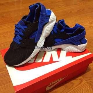 蝴蝶姐姐也有穿)Nike Air Huarache 黑籃 黑武士