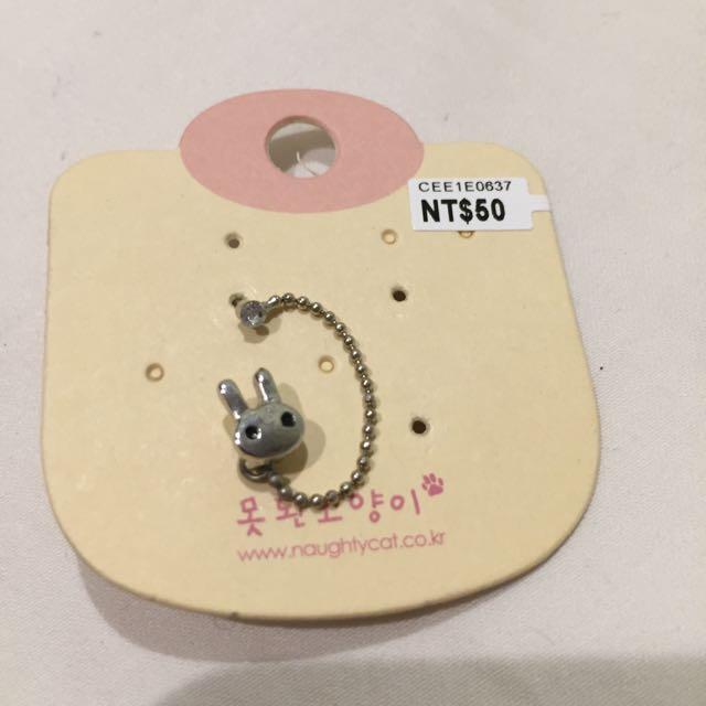 超可愛🐰垂鍊耳環