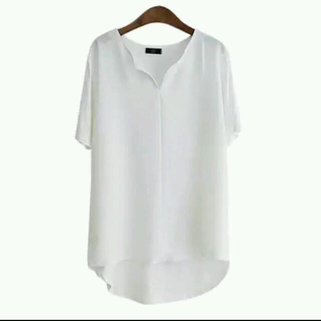 ✨免運✨全新✨顯瘦、涼爽🎐上班可以穿的寬鬆雪紡衫