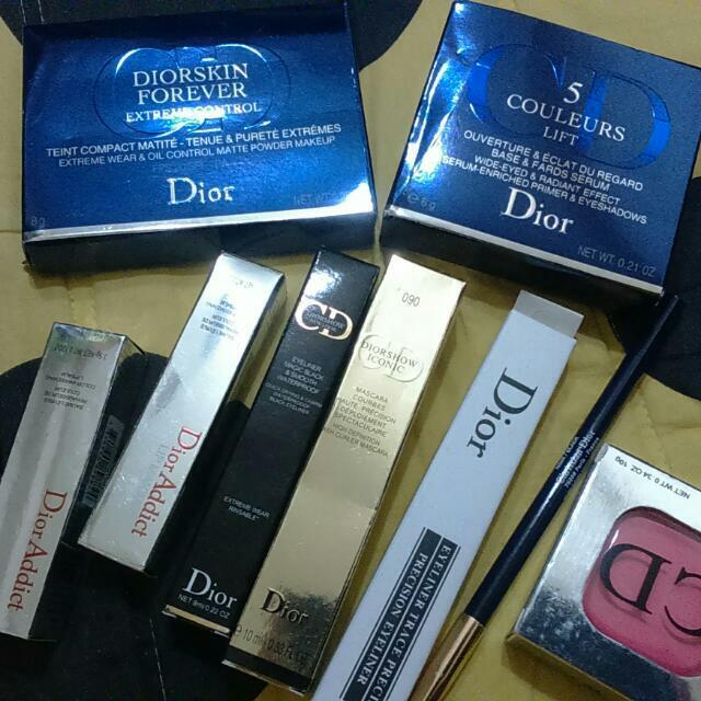 Dior彩妝九件組