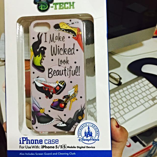 promo code f6a4f 22e7c Brand New Disney Parks Authentic (Original) Iphone 5/5S Case