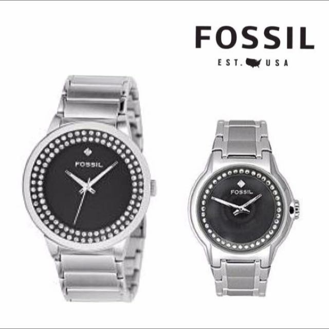 FOSSIL 全新專櫃正品 對錶