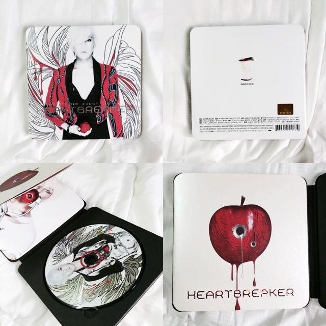GD-heartbreaker專輯(韓國進口版)