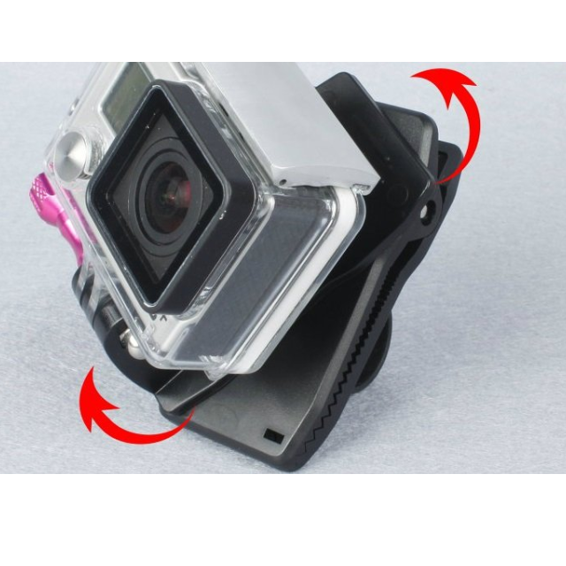 【GoPro 副廠配件】 360度鱷魚夾