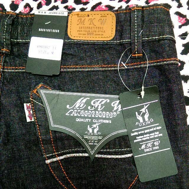(全新)MKW顯瘦牛仔褲-M號👖