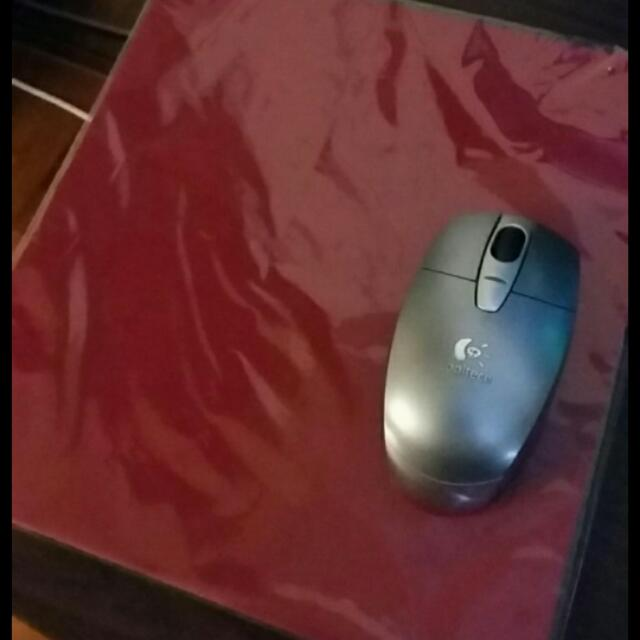 Mouse Pad - Red Color