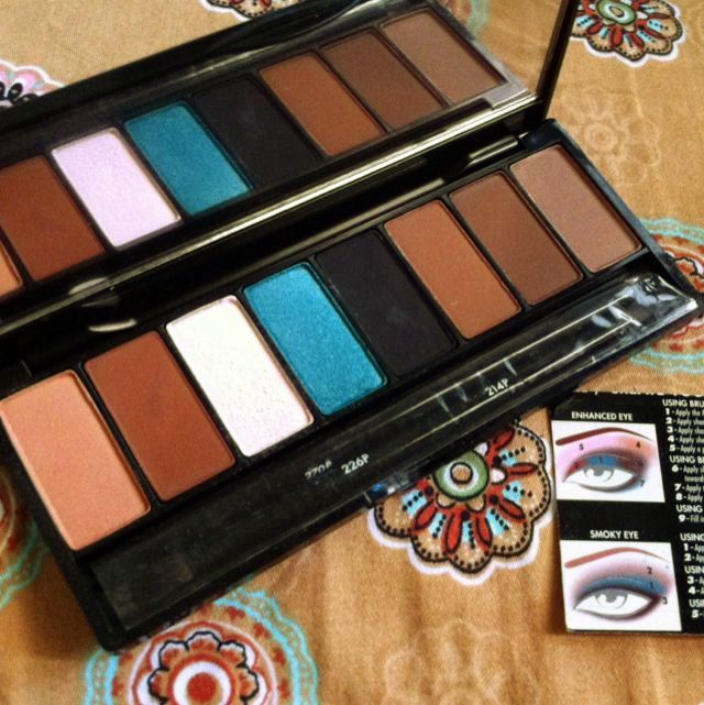 MUFE Make Up For Ever Forever Eyeshadow And Eyebrow Palette Blue Sepia   Unused New  Save Minimum 20 Dollar