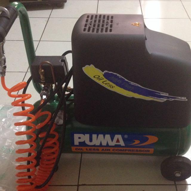 Puma 無油式空壓機 價錢可議