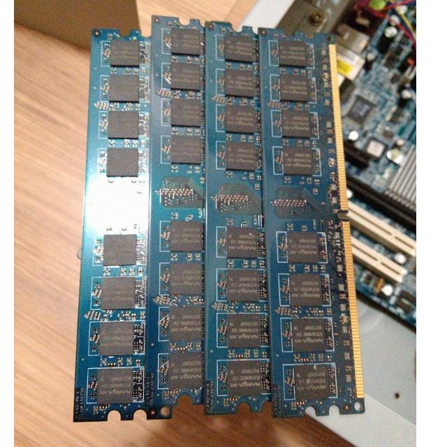 RAM 1G 四隻+送主機版和CPU