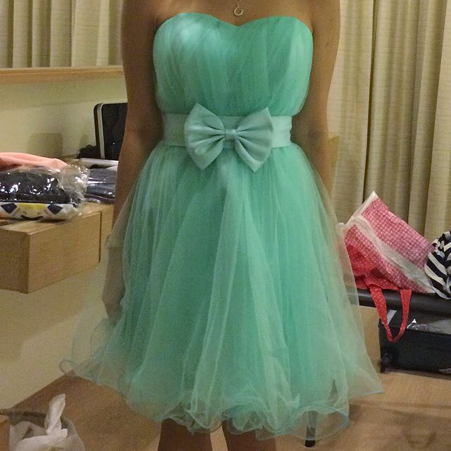 Rom Wedding Gown Dress Tiffany Blue, Women\'s Fashion on Carousell