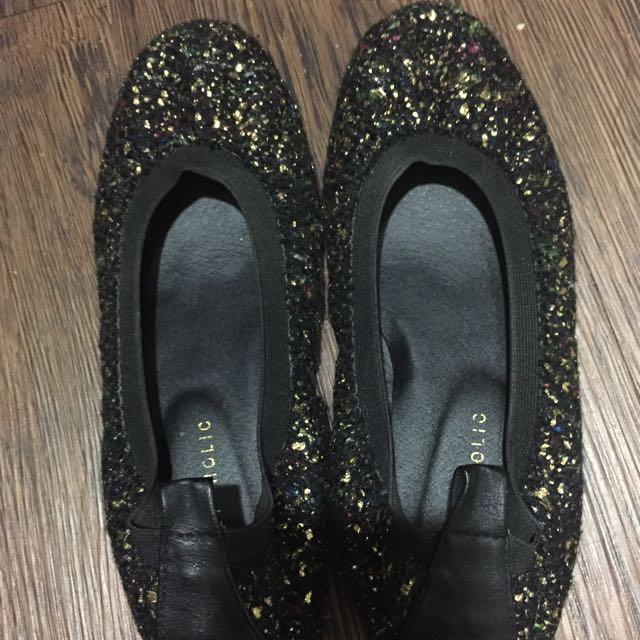 正韓something sweet 芭蕾娃娃鞋size:24