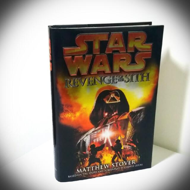 Star Wars Episode 3 Revenge Of The Sith Novel Or Book Books Stationery On Carousell