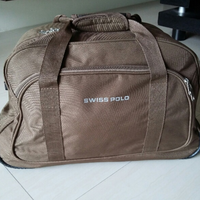 SWISS POLO Trolley Duffel Bag a4bff5385940e