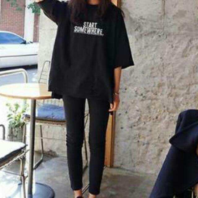 韓版顯瘦短袖T恤