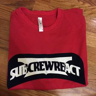 Subcrew  Logo短T