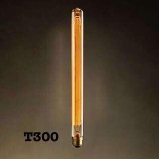 (現貨)T300愛迪生鎢絲燈泡工業風燈泡長笛燈泡T300