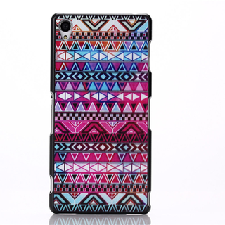 Xperia Z1/Z2/Z3/T3 Case Cover Hard Case Back Print - Tribal
