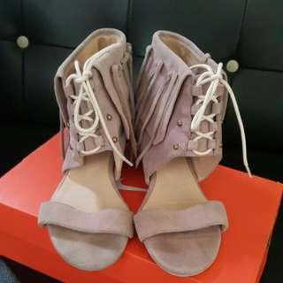 Ann,s涼鞋麂皮