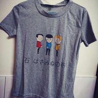 剪刀石頭布  T恤