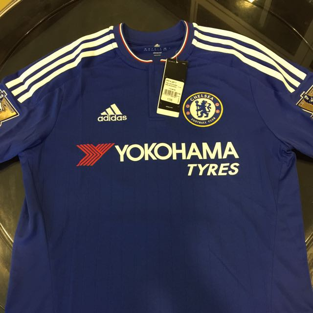 best authentic 54614 2dc06 2015/16 brand New Chelsea Jersey W Gold badges And number 10 Behind