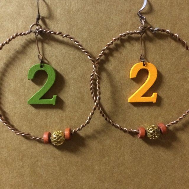 🎀手作耳環(含運)🎀2+2大於4
