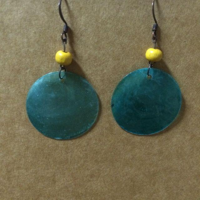 🎀手作耳環(含運)🎀藍色珊瑚海