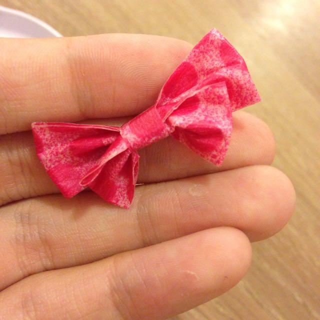 手作紙膠帶蝴蝶結