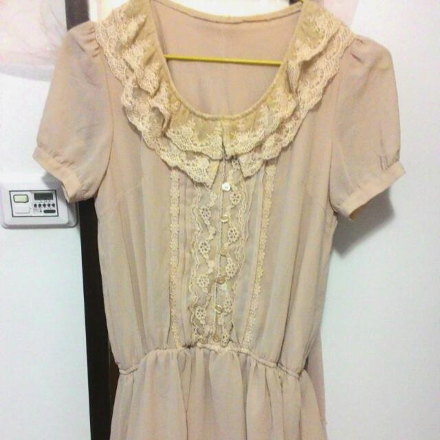 蕾絲 公主風 洋裝