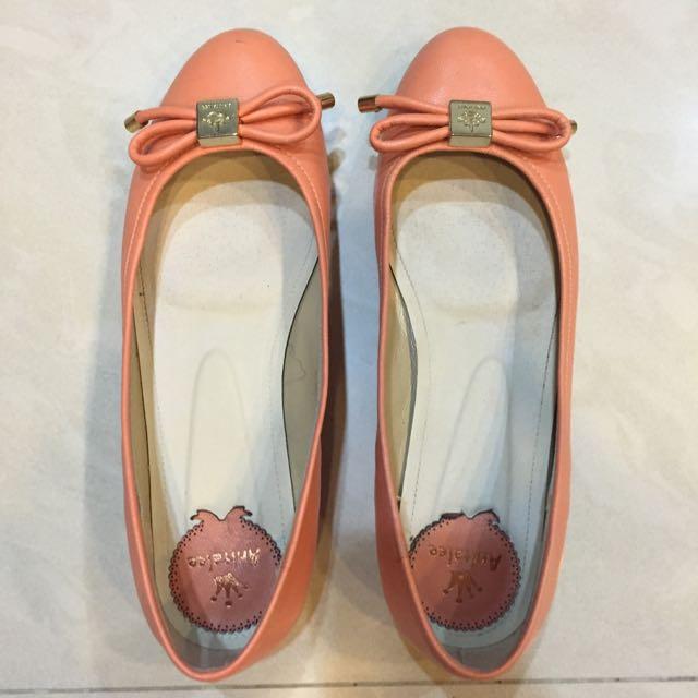 專櫃 Annalee 蝴蝶節平低娃娃鞋 36號