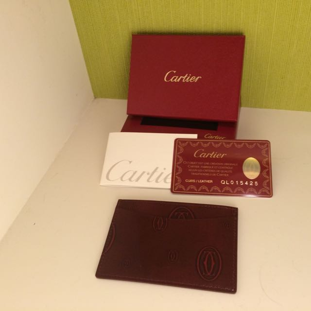 正品 Cartier 名片夾