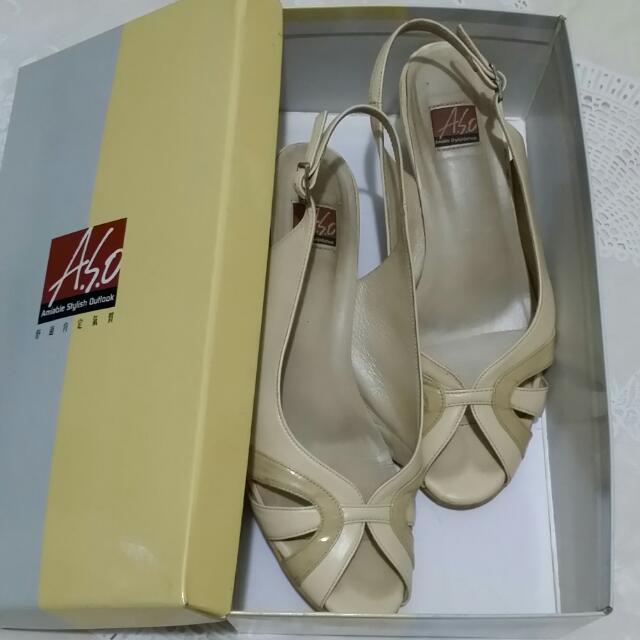 A.S.O 阿瘦皮鞋(低跟涼鞋)