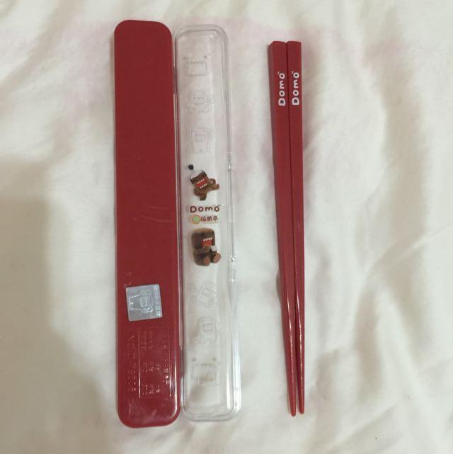 贈🎁 Domo 環保筷 ♻️ 紅
