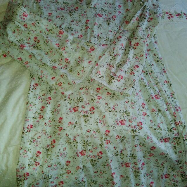 Floral Baju Kurung