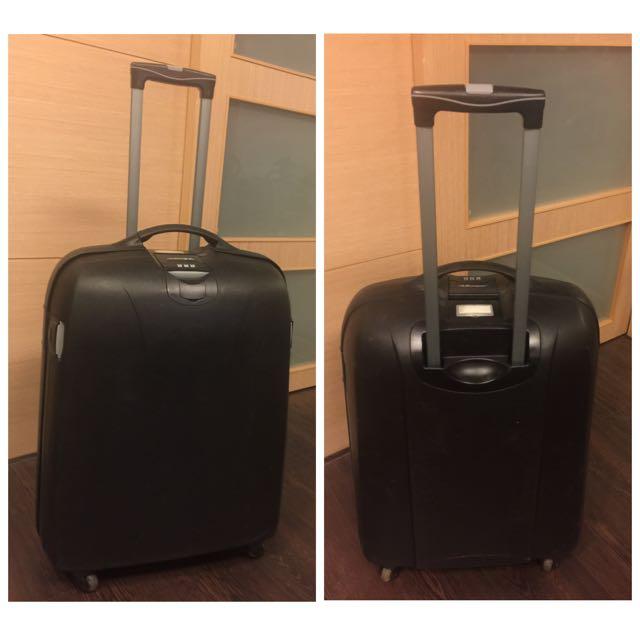 Hippo河馬硬殼行李箱-25吋黑色