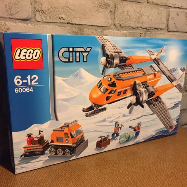 LEGO City 60064 ARCTIC SUPPLY PLANE, Toys & Games on Carousell