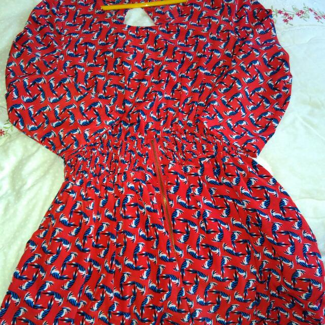Red Kitsyen Blouse