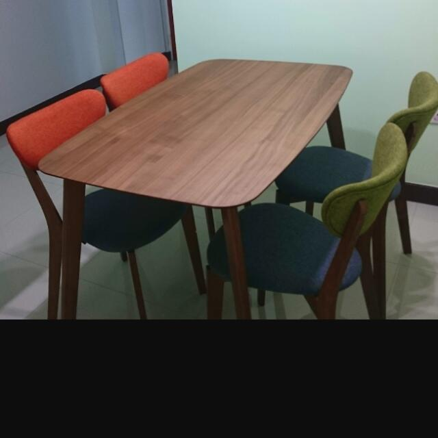 Retro Vintage Dining Table Set Vintage Collectibles On Carousell