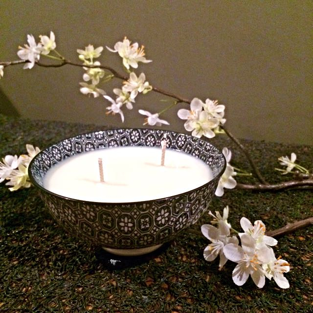 Soy Candle In A Bowl
