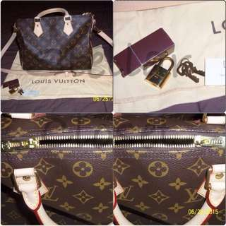 Louis Vuitton LV Monogram Speedy Bandouliere 30