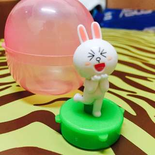 Line 兔兔 印章 扭蛋