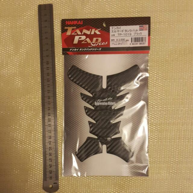 南海部品3D卡夢油箱保護貼~日本帶回