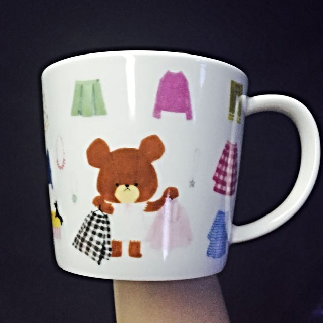 [免運]小熊學校 馬克杯 (白)