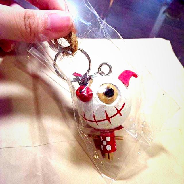 木製 小丑吊飾(含運)