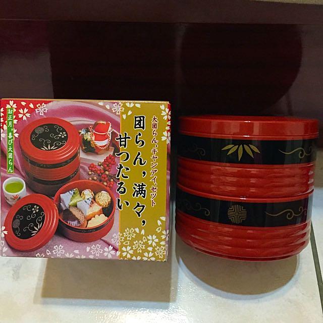 [降]全新 日式和風餐盒